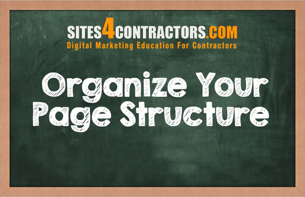 organize-page-structure